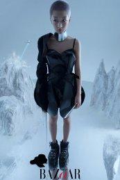 Zhou Dongyu for Mini Bazaar China January 2020-7