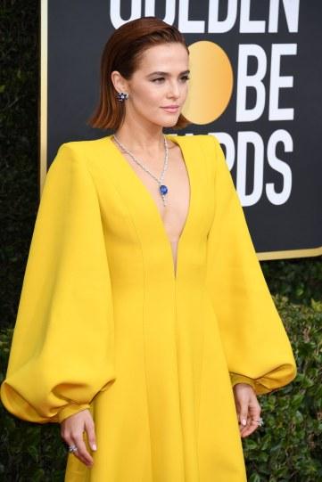 Zoey Deutch in Fendi Fall 2019 Couture-5