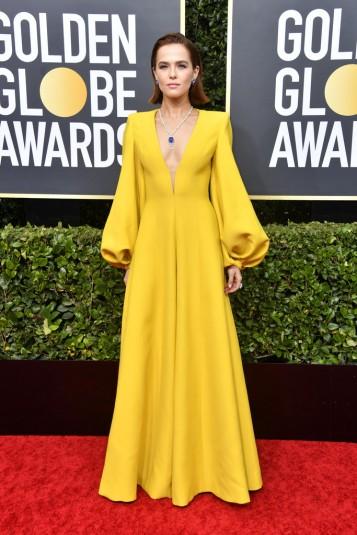 Zoey Deutch in Fendi Fall 2019 Couture-7