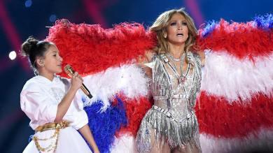2020 Super Bowl Halftime Show Jennifer Lopez and Shakira-11