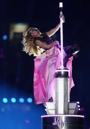2020 Super Bowl Halftime Show Jennifer Lopez and Shakira-5