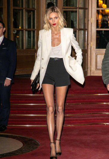Anja Rubik in Saint Laurent Resort 2020 and Spring 2020-4