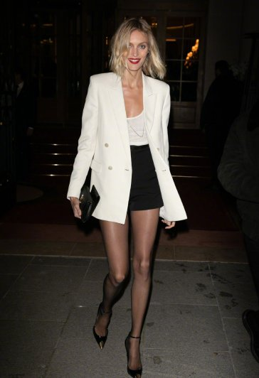 Anja Rubik in Saint Laurent Resort 2020 and Spring 2020-5