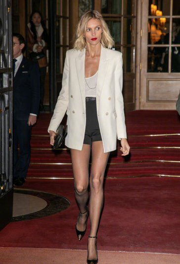 Anja Rubik in Saint Laurent Resort 2020 and Spring 2020-6