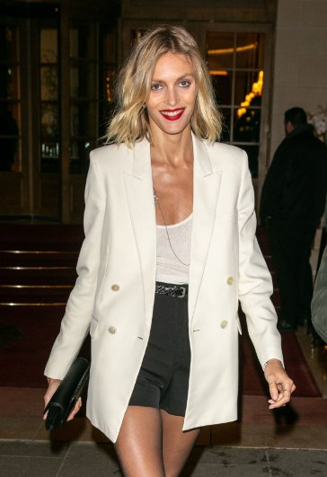 Anja Rubik in Saint Laurent Resort 2020 and Spring 2020-7