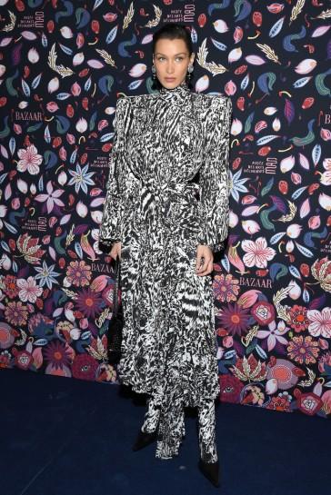 Bella Hadid in Balenciaga Spring 2020-1
