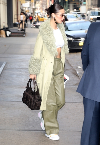 Bella Hadid in Saks Potts Fall 2019-10
