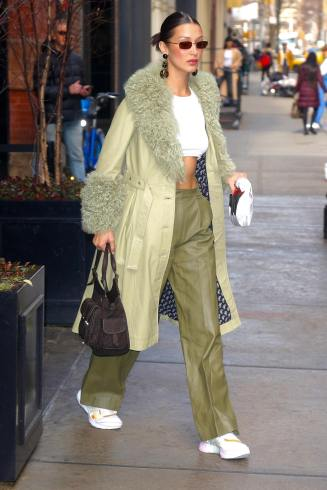 Bella Hadid in Saks Potts Fall 2019-4