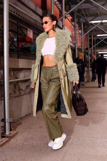 Bella Hadid in Saks Potts Fall 2019-5