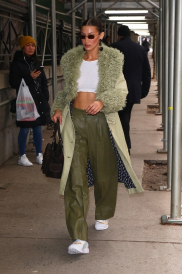 Bella Hadid in Saks Potts Fall 2019-6