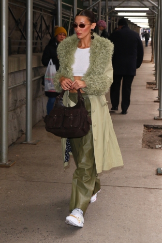 Bella Hadid in Saks Potts Fall 2019-7