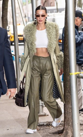 Bella Hadid in Saks Potts Fall 2019-9