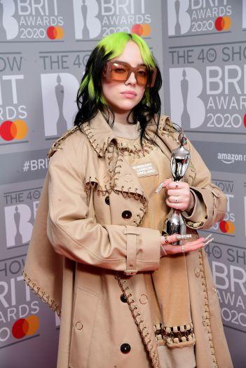 Brit Awards 2020 - Press Room - London