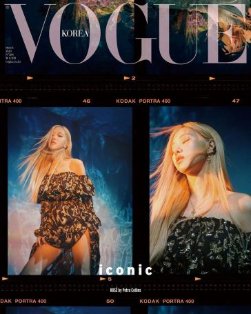 BLACKPINK for Vogue Korea March 2020 Cover--5