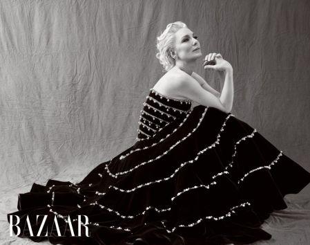 Cate Blanchett for Harper's Bazaar Taiwan February 2020-2
