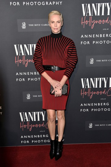 Charlize Theron in Louis Vuitton Resort 2020