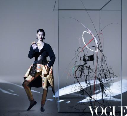 Chris Li for Vogue China March 2020-5