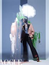 Chris Li for Vogue China March 2020-8