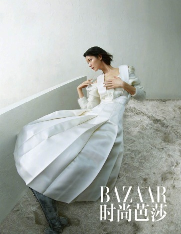 Du Juan for Harper's Bazaar China March 2020-1