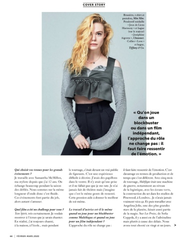Elle Fanning Glamour France March 2020-15