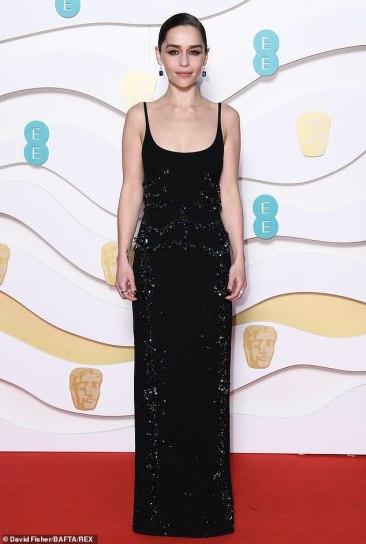 Emilia Clarke in Schiaparelli Spring 2020 Couture-1