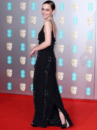 Emilia Clarke in Schiaparelli Spring 2020 Couture-5
