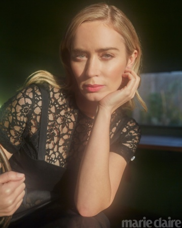 Emily Blunt for Marie Claire US March 2020-5