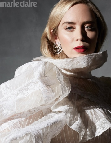 Emily Blunt for Marie Claire US March 2020-9