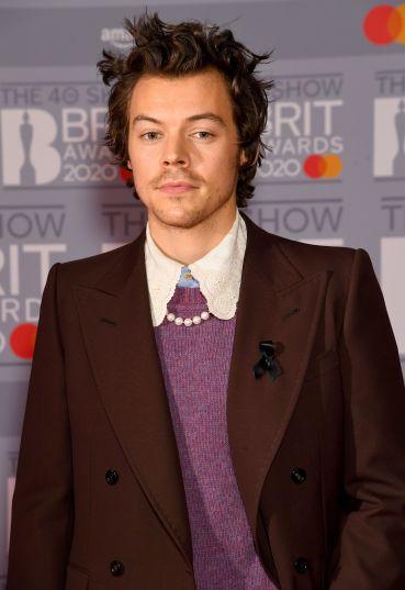 Harry Styles in Gucci Fall 2020 Menswear-5