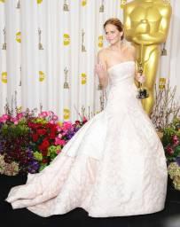 Jennifer Lawrence 2013 Dior