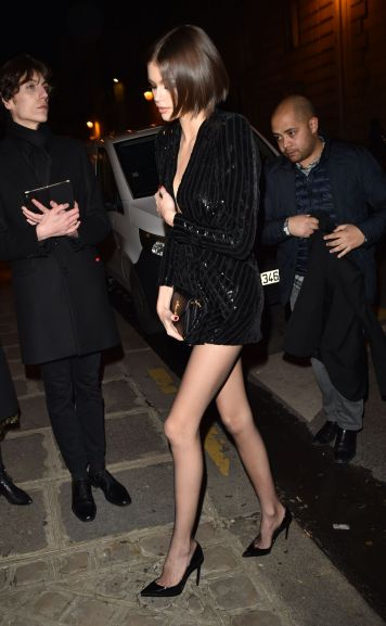 Kaia Gerber in Saint Laurent Resort 2020-5