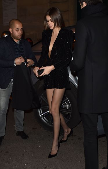 Kaia Gerber in Saint Laurent Resort 2020-6