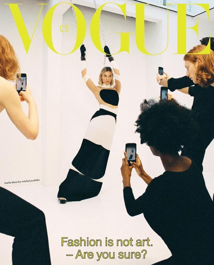 Karlie Kloss Vogue Czechoslovakia March 2020 Cover B