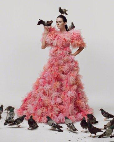 Kendall Jenner for GARAGE MagazineSpring Summer 2020-8