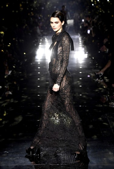 Kendall Jenner for Tom Ford Fall 2020-1
