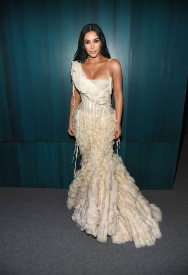 Kim Kardashian in Alexander McQueen Spring 2003-6