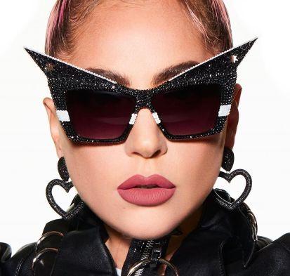 Lady Gaga Haus Labs A Le Monster Matte Lip Crayon Campaign-2