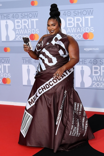 Lizzo in Moschino Fall 2014-1