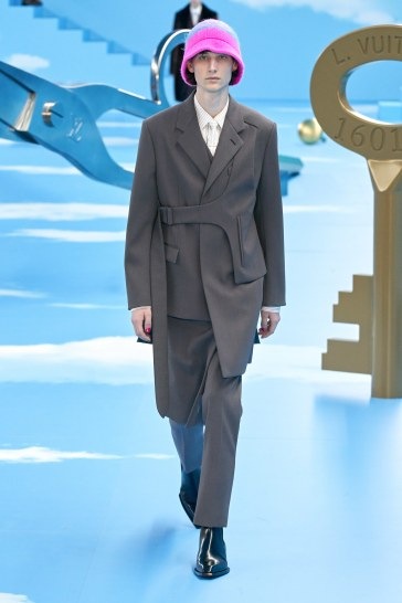 Louis Vuitton Fall 2020 Menswear Look 12