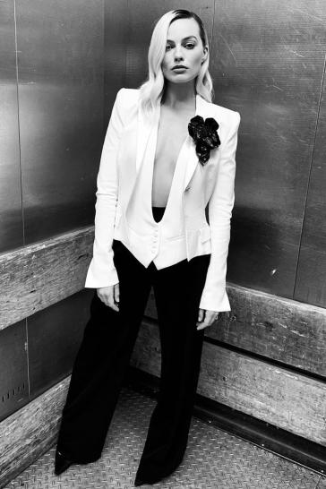 Margot Robbie in Alexandre Vauthier Spring 2020-2