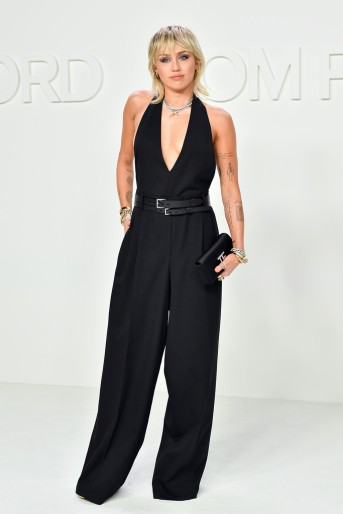 Miley Cyrus in Tom Ford Spring 2020-9