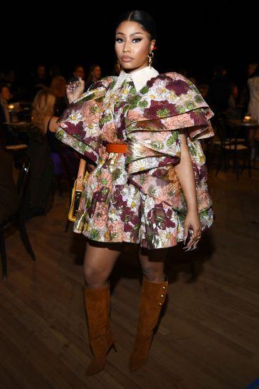 Nicki Minaj in Marc Jacobs Spring 2020-1