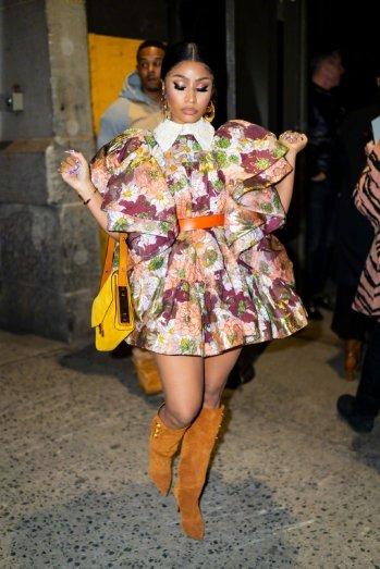 Nicki Minaj in Marc Jacobs Spring 2020-6