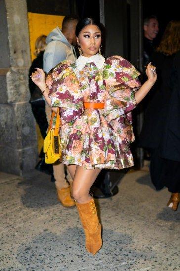 Nicki Minaj in Marc Jacobs Spring 2020-7