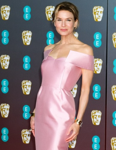 Renee Zellweger attends the 2020 EE British Academy Film Awards on Sunday 2 February 2020