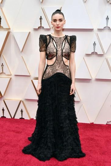 Rooney Mara in Alexander McQueen-1