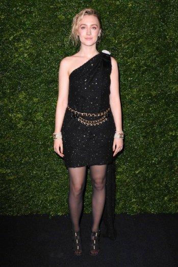 Saoirse Ronan in Chanel Pre-Fall 2020-9
