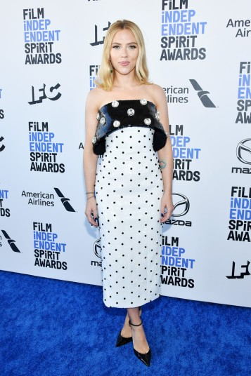 Scarlett Johansson in Balmain Pre-Fall 2020-5