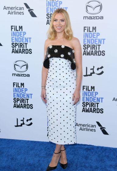 Scarlett Johansson in Balmain Pre-Fall 2020-7