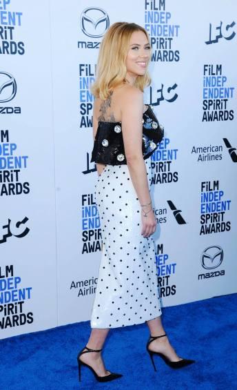 Scarlett Johansson in Balmain Pre-Fall 2020-8